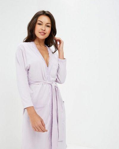 Фиолетовый домашний халат Nymos