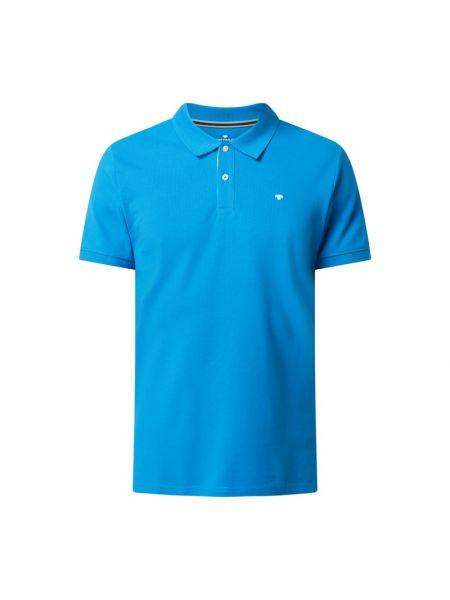 T-shirt bawełniana - turkusowa Tom Tailor