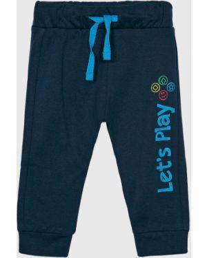Синие брюки на резинке Blukids