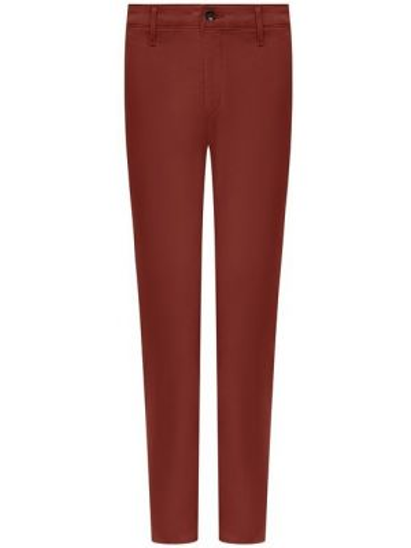 Укороченные брюки деловые шелковые Ag