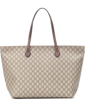 Сумка шоппер среднего размера сумка-тоут Gucci