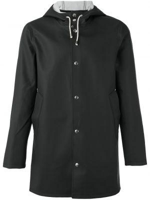 Czarna kurtka bawełniana Stutterheim