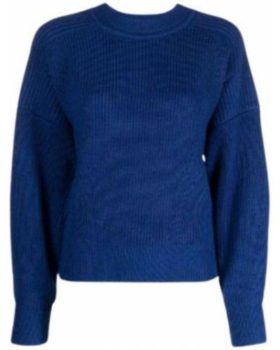 Sweter - niebieski Isabel Marant Etoile