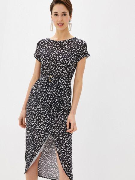 Повседневное платье черное весеннее Marks & Spencer