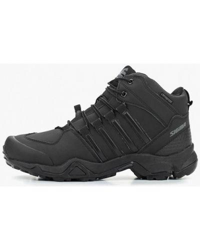 Треккинговые ботинки осенние из нубука Sigma