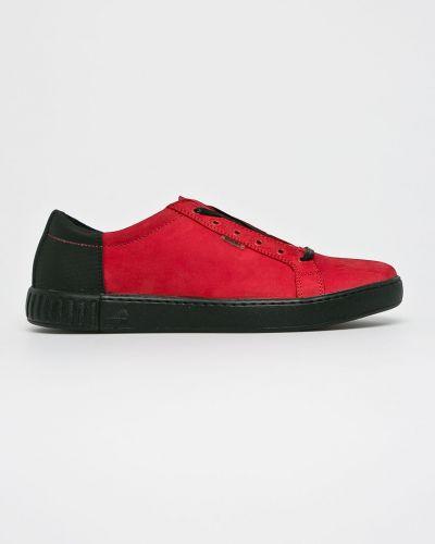 Туфли на шнуровке текстильные Badura