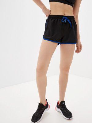 Черные спортивные шорты W.sharvel