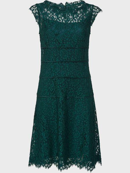 Шелковое платье - зеленое Luisa Spagnoli