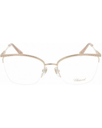 Różowe okulary Chopard