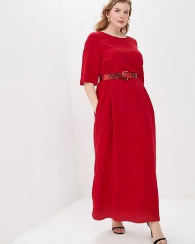 Повседневное платье красный Tutto Bene Plus