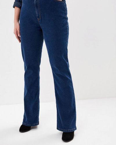 Широкие джинсы расклешенные синие Marks & Spencer