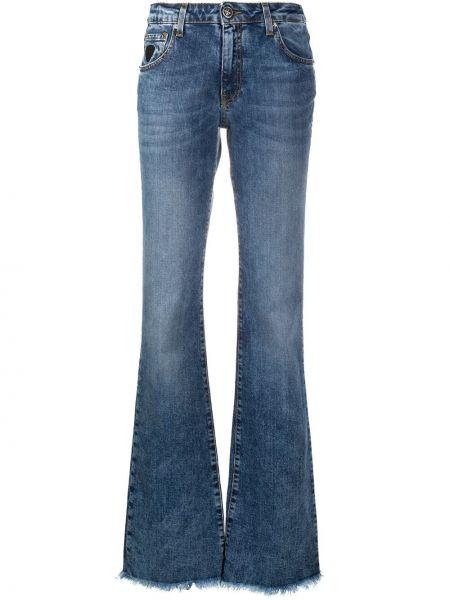 Расклешенные джинсы свободные с низкой посадкой John Richmond