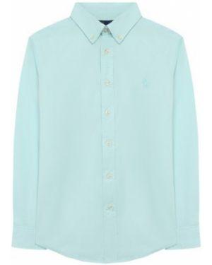 Рубашка из плотной ткани с вышивкой с воротником Ralph Lauren