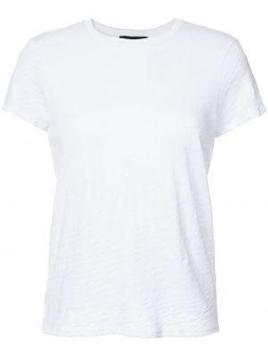 Klasyczny biały klasyczna koszula bawełniany Atm Anthony Thomas Melillo