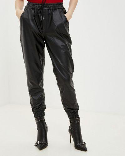 Кожаные черные брюки D'she
