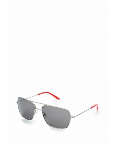 Солнцезащитные очки серебряного цвета Puma