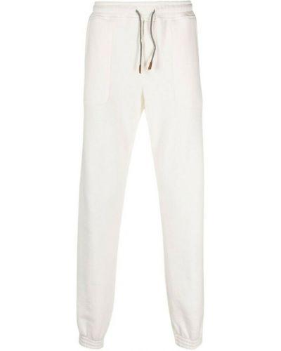 Białe spodnie Eleventy