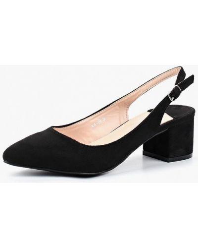Черные туфли с открытой пяткой Ws Shoes