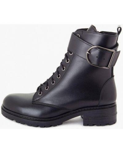 Кожаные ботинки - черные Milli Gold