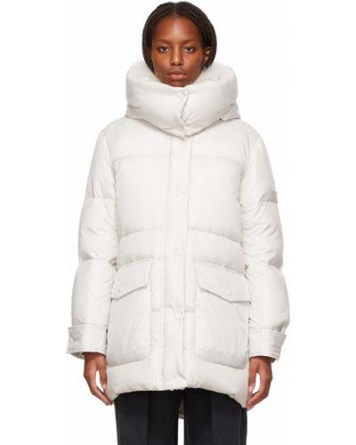 Стеганая куртка - белая Yves Salomon Army