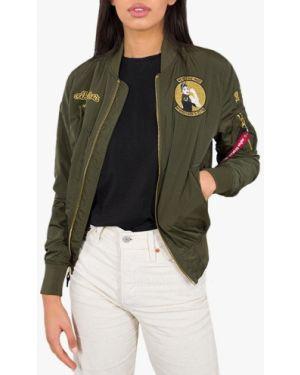 Зеленая куртка MA-1 Alpha Industries