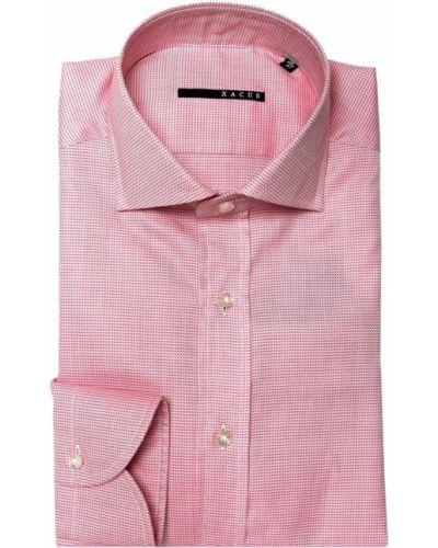 Розовая рубашка Xacus