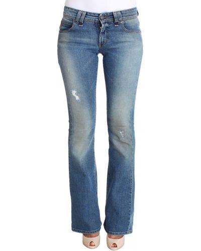 Jeansy rozkloszowane Galliano