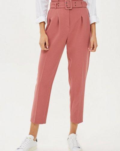 Розовые брюки повседневные Topshop