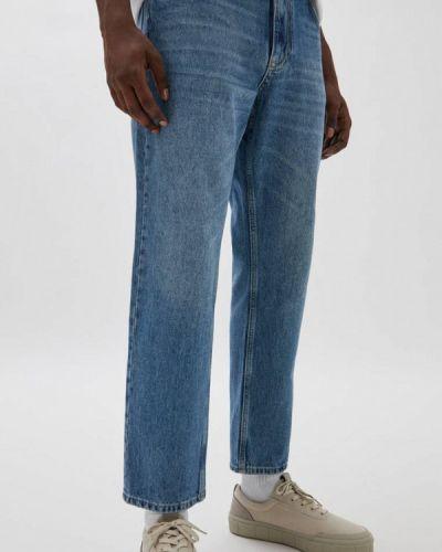 Синие зимние джинсы Pull&bear
