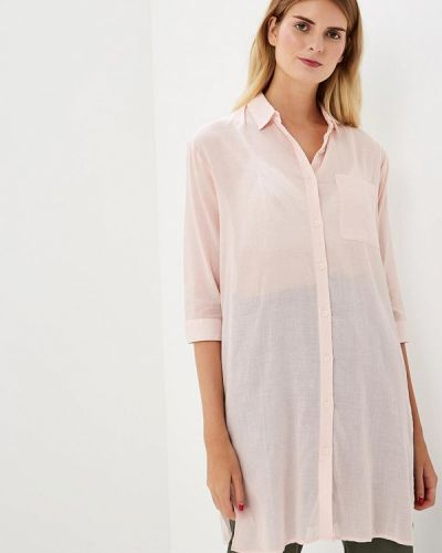 Платье розовое платье-рубашка H:connect