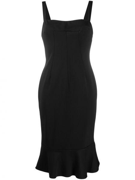 Черное платье без рукавов квадратное Dolce & Gabbana Pre-owned