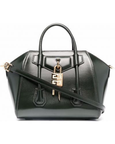 Зеленая сумка на молнии Givenchy
