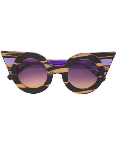 Солнцезащитные очки розовый черные Delalle