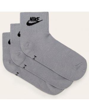 Szare sport skarpety wełniane Nike Sportswear