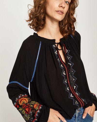 Блузка с вышивкой из вискозы Desigual