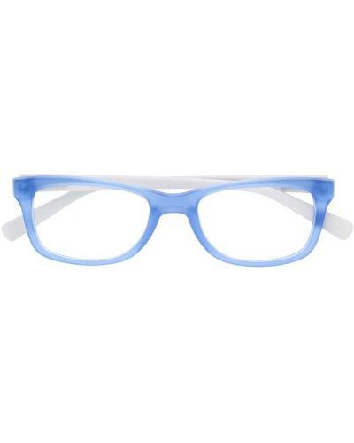 Синие очки для зрения квадратные для полных Nike Kids