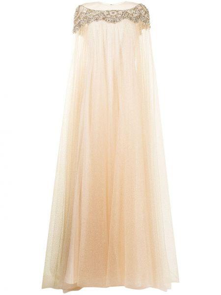 Sukienka mini tiulowa Jenny Packham