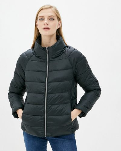 Черная теплая куртка Zolla
