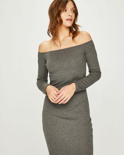 Платье мини прямое трикотажное Answear