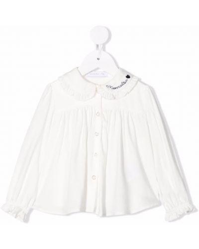 Bluzka z wiskozy - biała Monnalisa