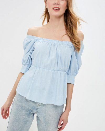 Блузка с открытыми плечами весенний Lost Ink.
