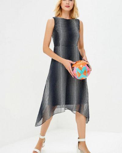Деловое платье осеннее синее Wallis
