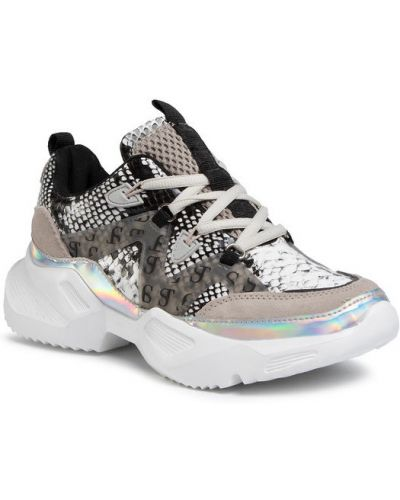 Szare sneakersy Supertrash