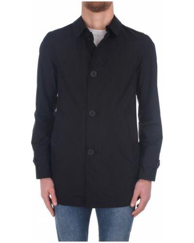 Płaszcz od płaszcza przeciwdeszczowego za pełne na przyciskach Herno