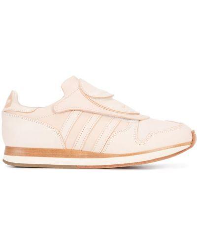 Кожаные кроссовки розовый Hender Scheme