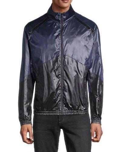 Długa kurtka z długimi rękawami z wiskozy Hugo Hugo Boss