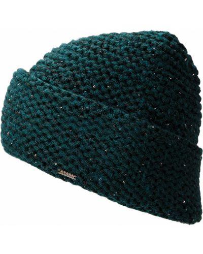 Зеленая шапка шерстяная Finn Flare