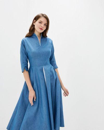 Джинсовое платье - синее D&m By 1001 Dress