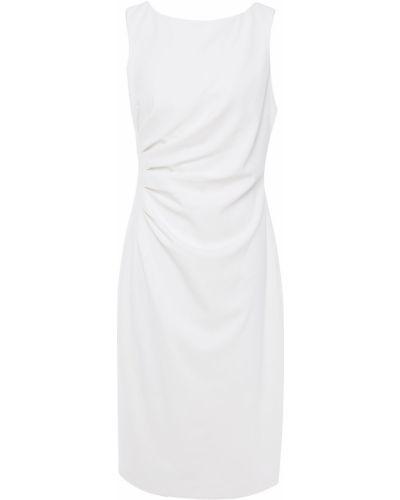 Платье миди - белое Badgley Mischka