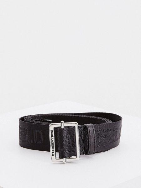Ремень черный Karl Lagerfeld